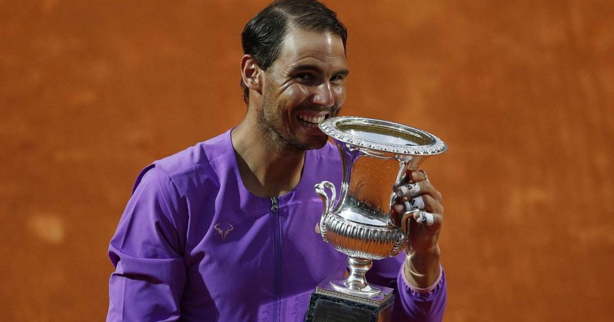 Rafael Nadal wins Italian Open