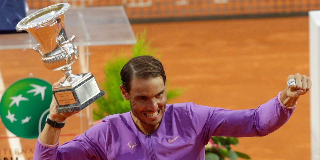 Rafael Nadal Italian Open winner