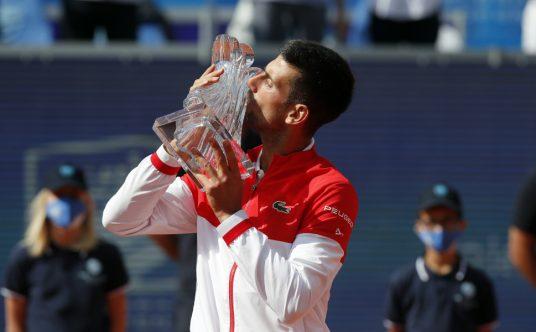 Novak Djokovic Belgrade Open champion