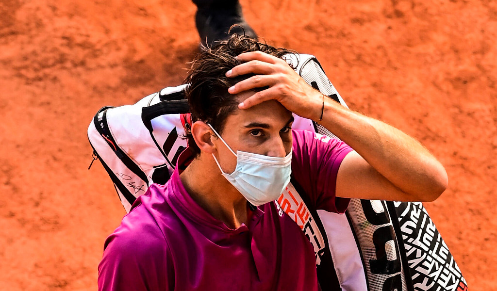Dominic Thiem disappointed