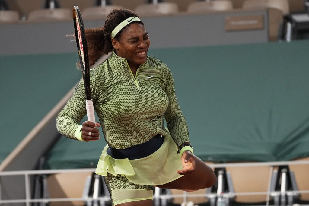 Serena Williams animated