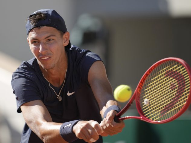 Alexei Popyrin had two sets points against Rafael Nadal in the third set