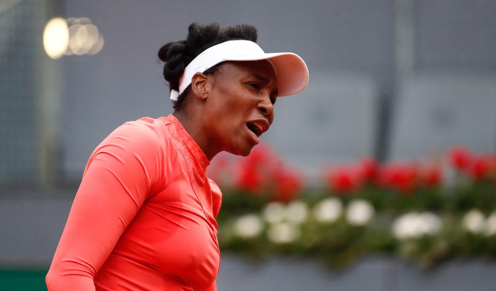 Venus Williams unimpressed