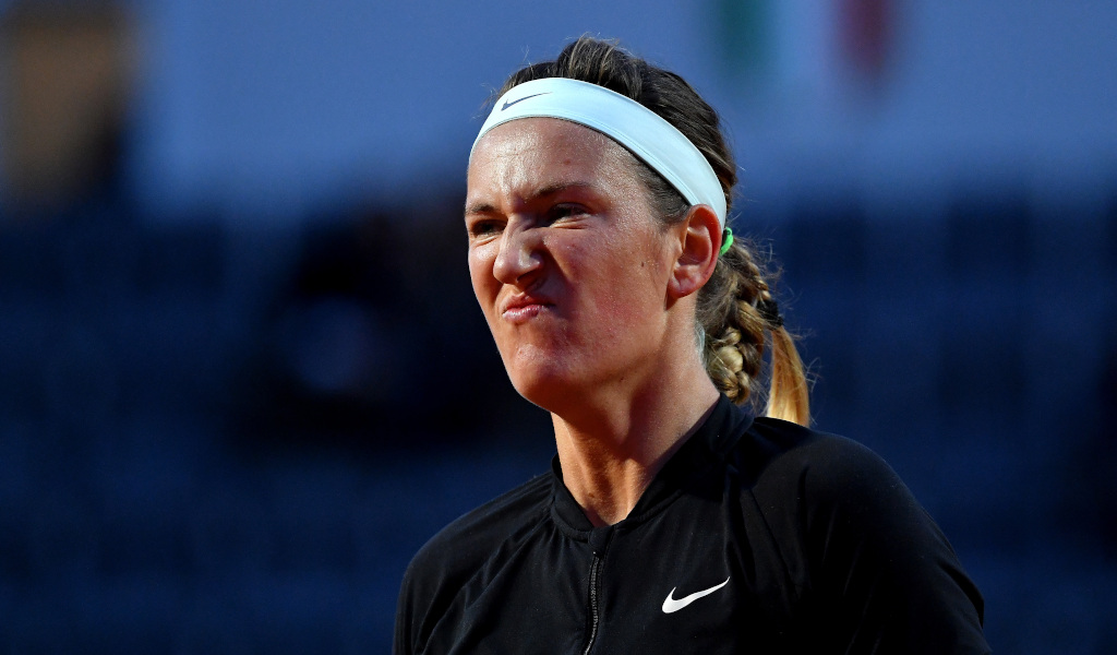Victoria Azarenka unimpressed