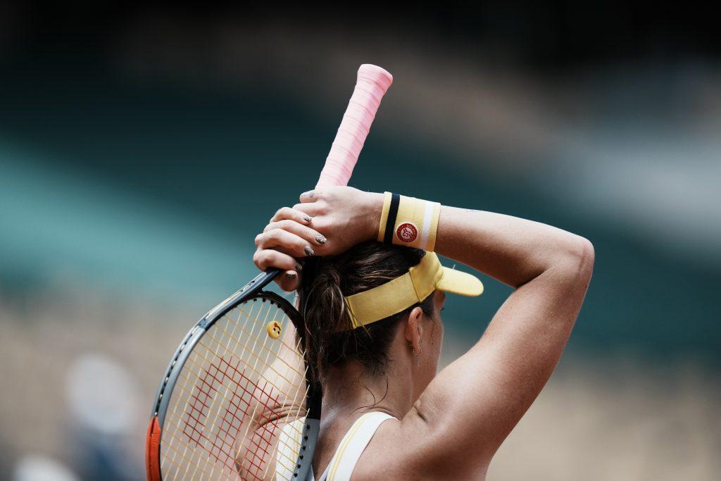 Anastasia Pavlyuchenkova disbelief