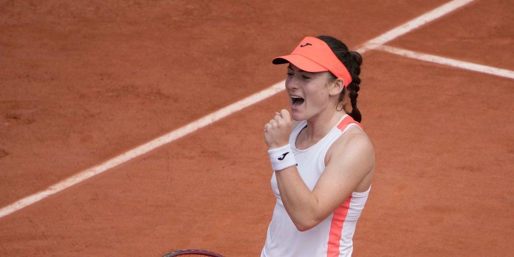 Tamara Zidansek delighted