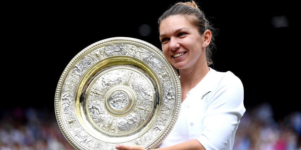 Simona Halep Wimbledon champion