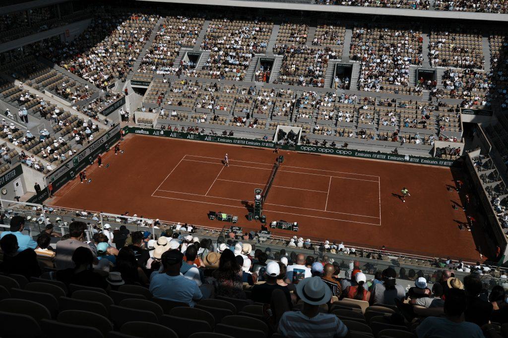 French Open Roland Garros atmosphere
