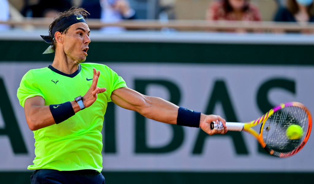 Rafael Nadal forehand