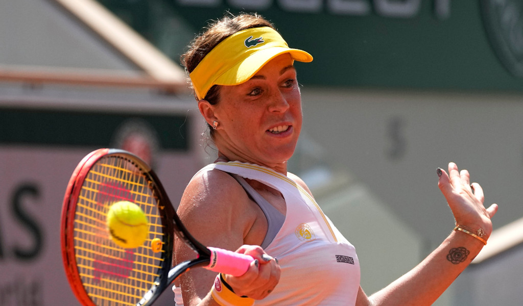 Anastasia Pavlyuchenkova forehand