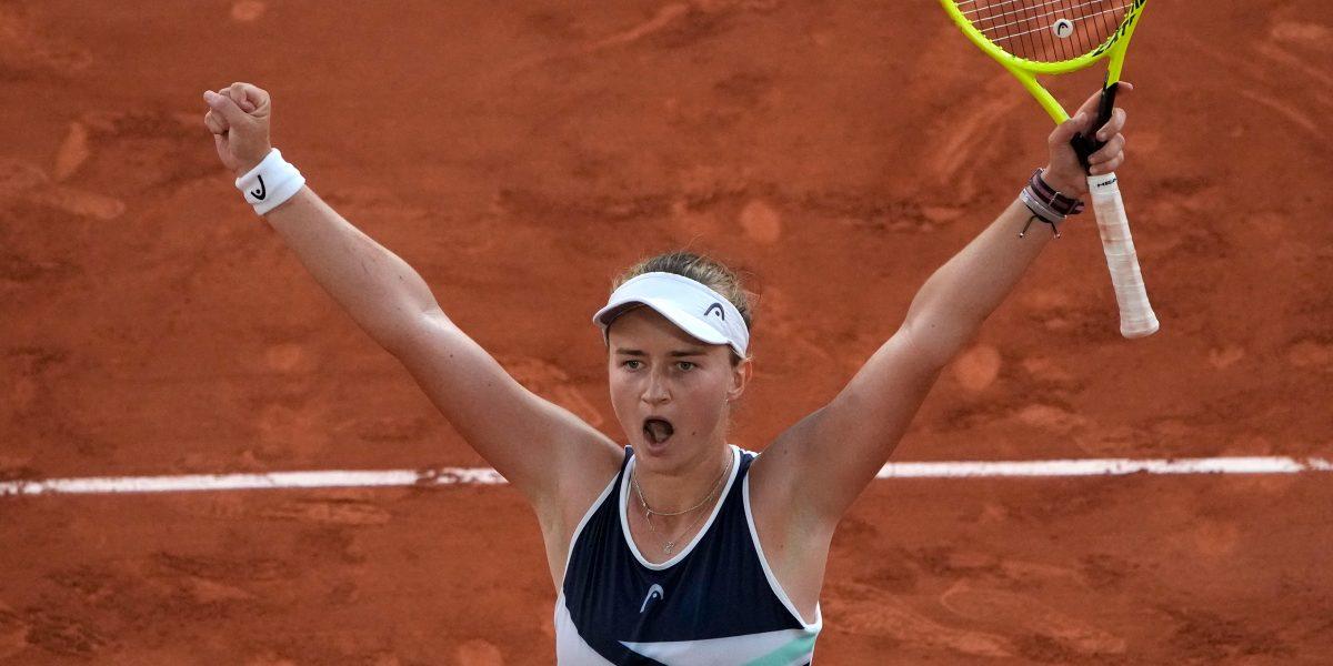 Barbora Krejcikova delighted