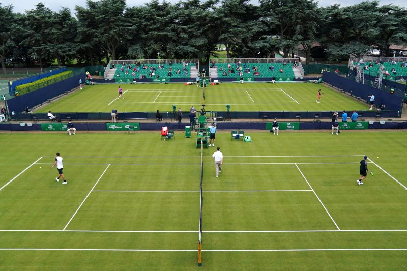 Grass courts in Great Britain