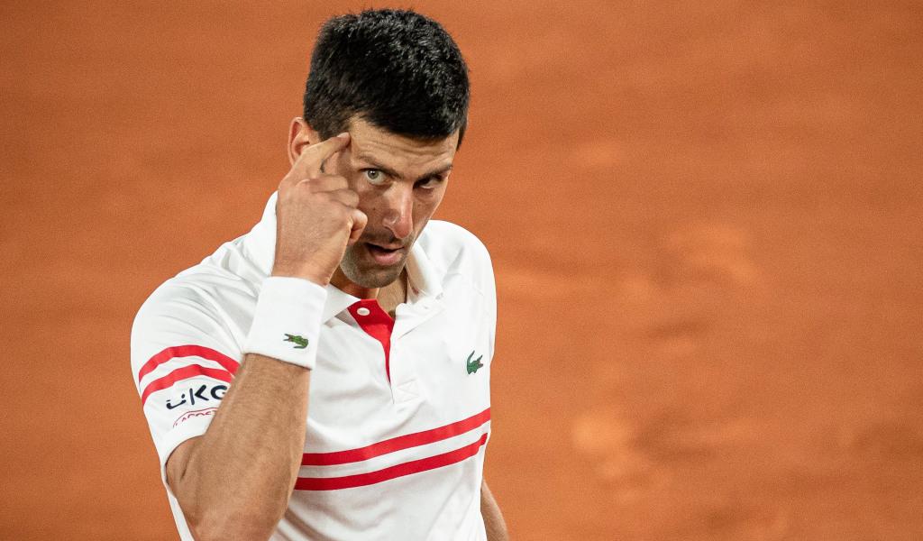 Novak Djokovic staying focused