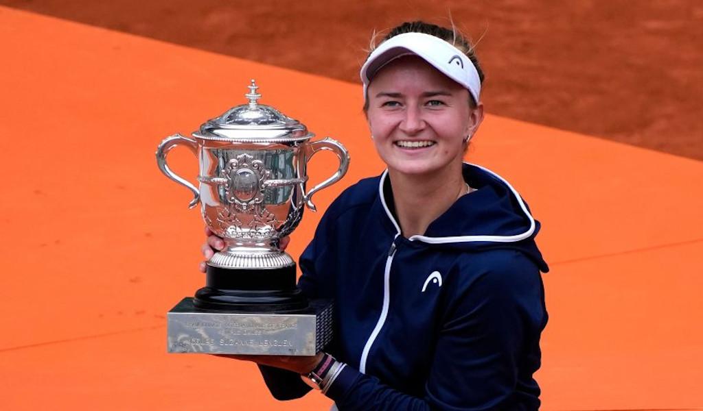 Barbora Krejcikova French Open champion