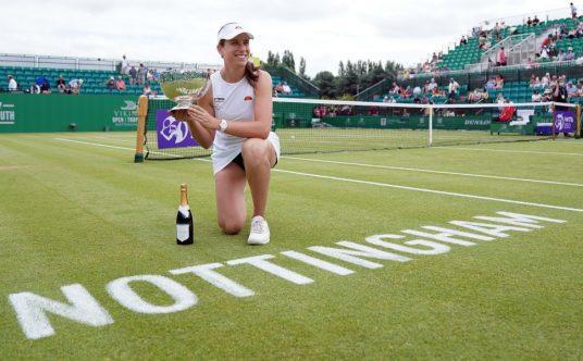 Johanna Konta Viking Open champion