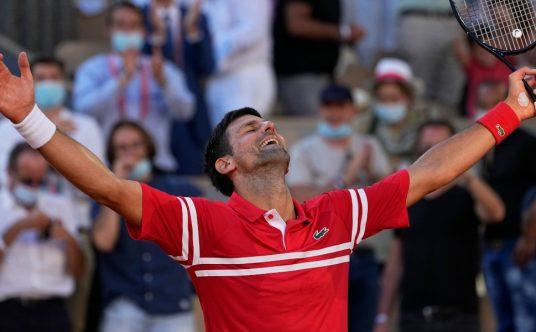 Novak Djokovic in dreamland