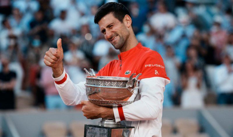 Novak Djokovic 2021 French Open champion