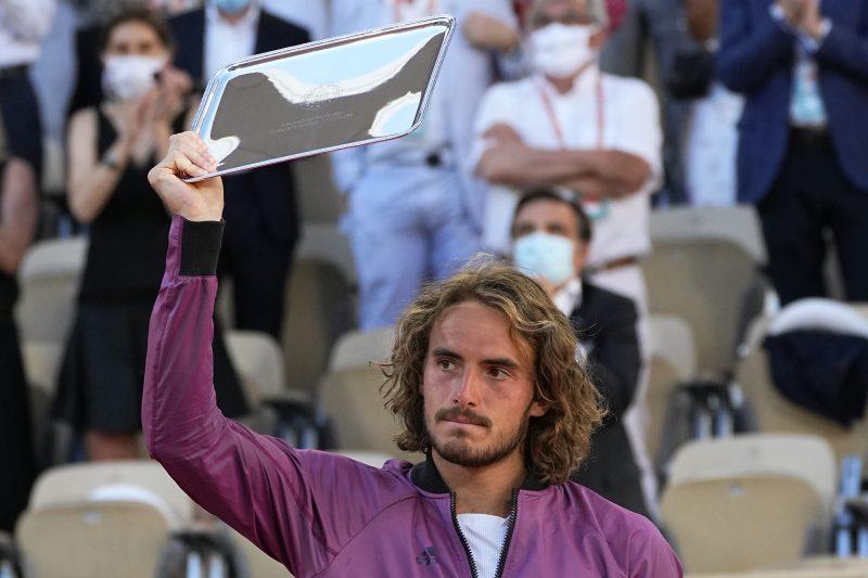 Stefanos Tsitsipas French Open runner-up