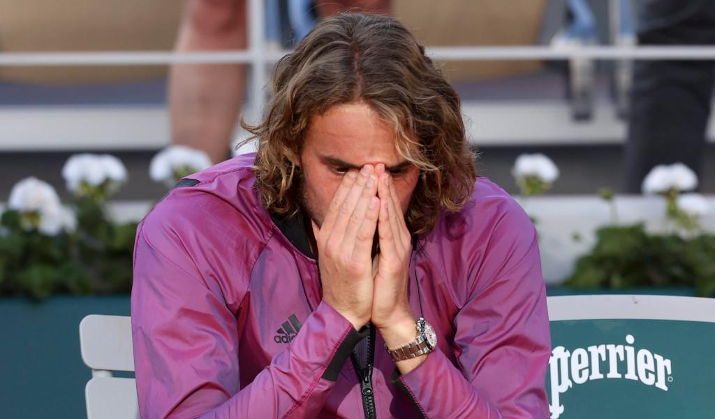 Stefanos Tsitsipas post-match emotions