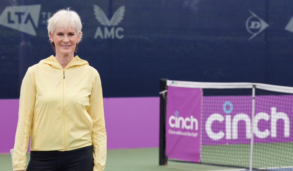 Judy Murray at cinch Championships
