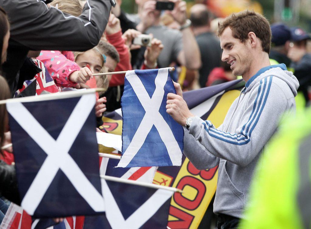 Andy Murray backing Scotland