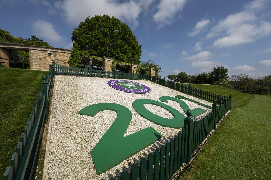 Wimbledon preparations