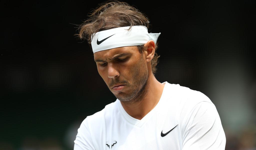 Rafael Nadal at Wimbledon