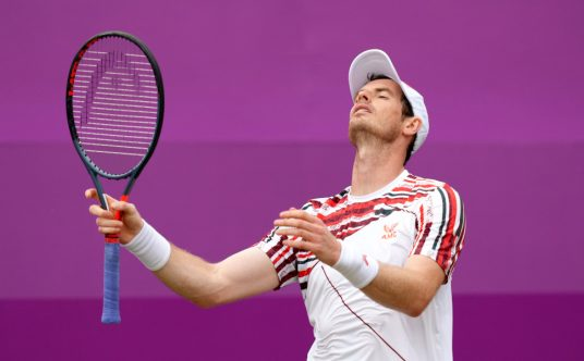 Andy Murray disappointed