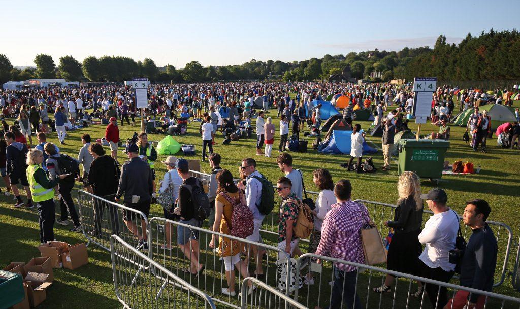 Wimbledon atmosphere