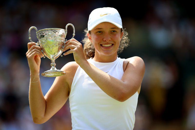 Iga Swiatek Wimbledon Girls' champion