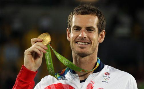Andy Murray 2016 Rio Olympics gold medallist