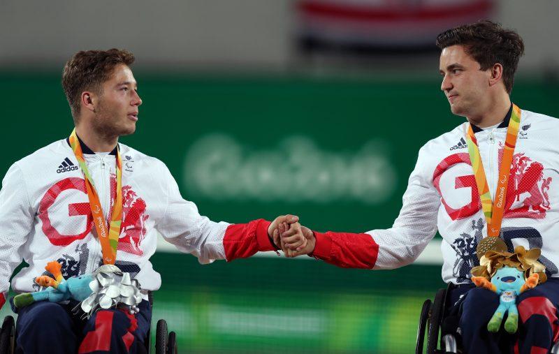 Gordon Reid and Alfie Hewett Rio Olympics