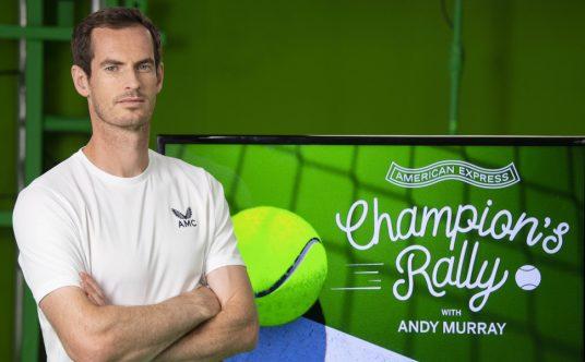 Andy Murray Champion's Rally