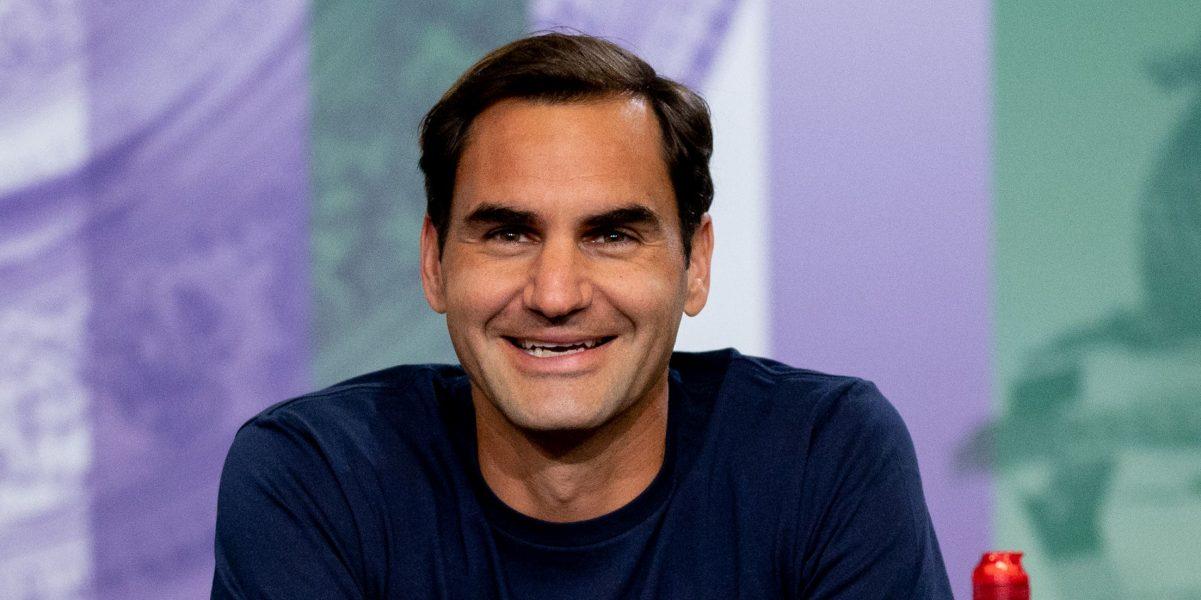 Roger Federer Wimbledon media duties