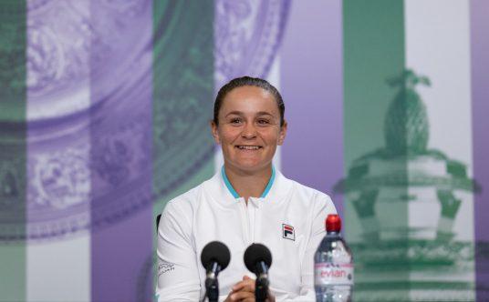 Ashleigh Barty Wimbledon press conference