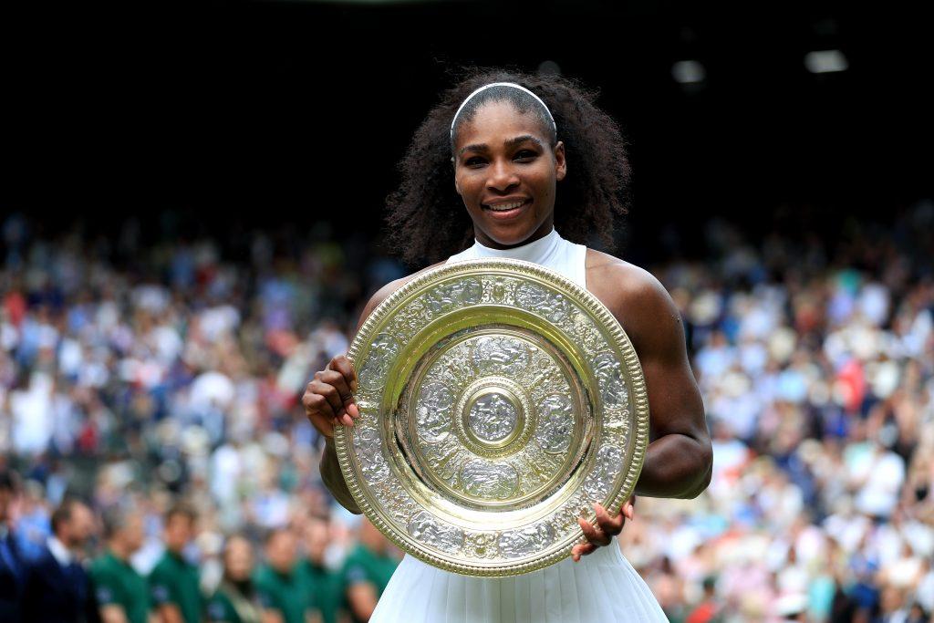 Serena Williams Wimbledon champion