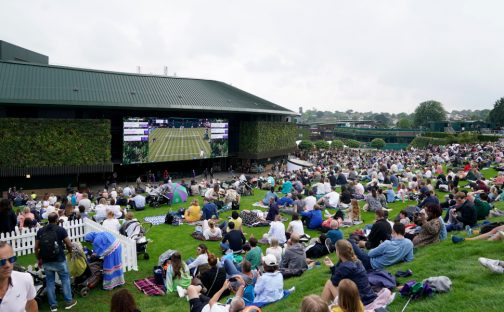 Wimbledon Murray Mound