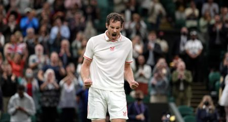 Raw emotion from Andy Murray