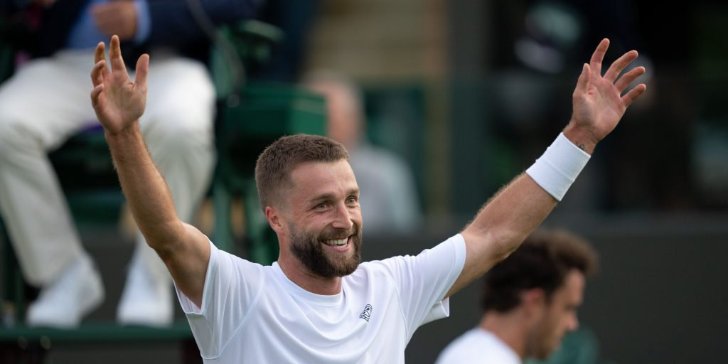 Liam Broady delighted