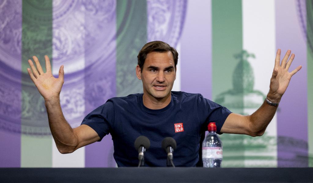 Roger Federer Wimbledon press conference