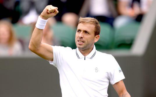 Dan Evans Wimbledon win