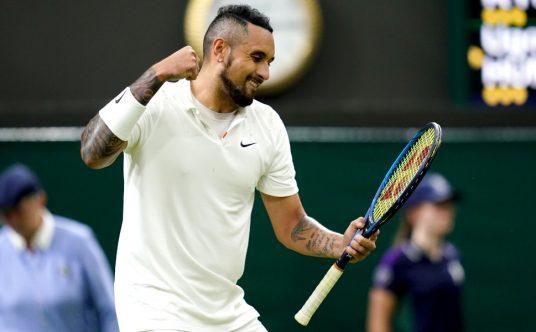 Nick Kyrgios Wimbledon delight