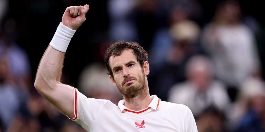 Andy Murray pleased