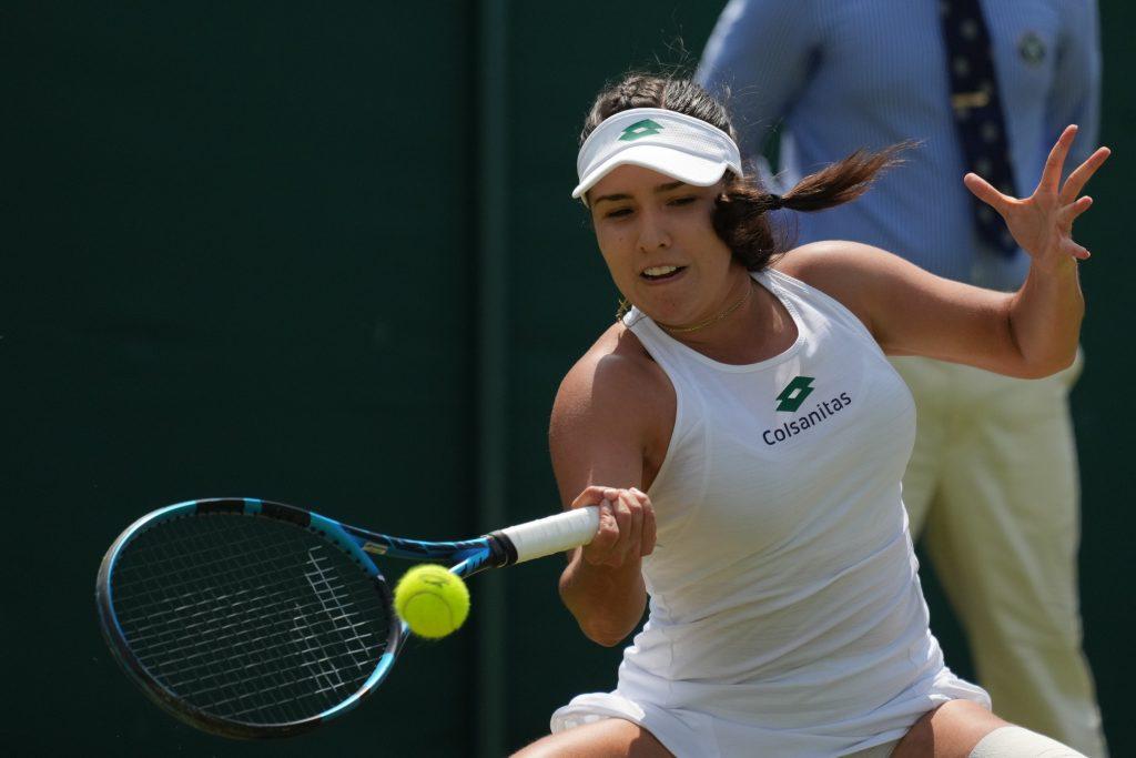 Maria Camila Osorio Serrano in action