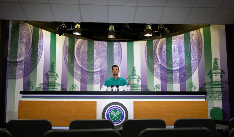 Novak Djokovic Wimbledon press conference