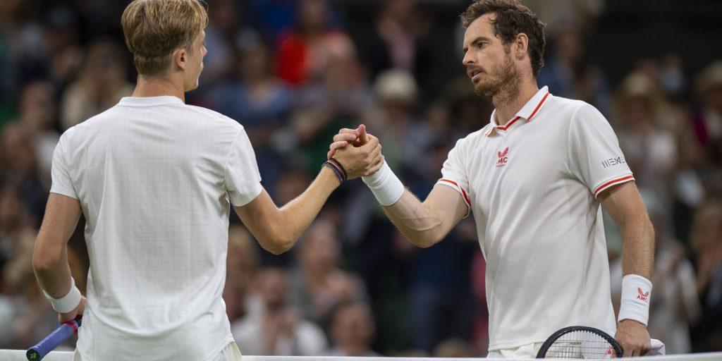 Denis Shapovalov and Andy Murray