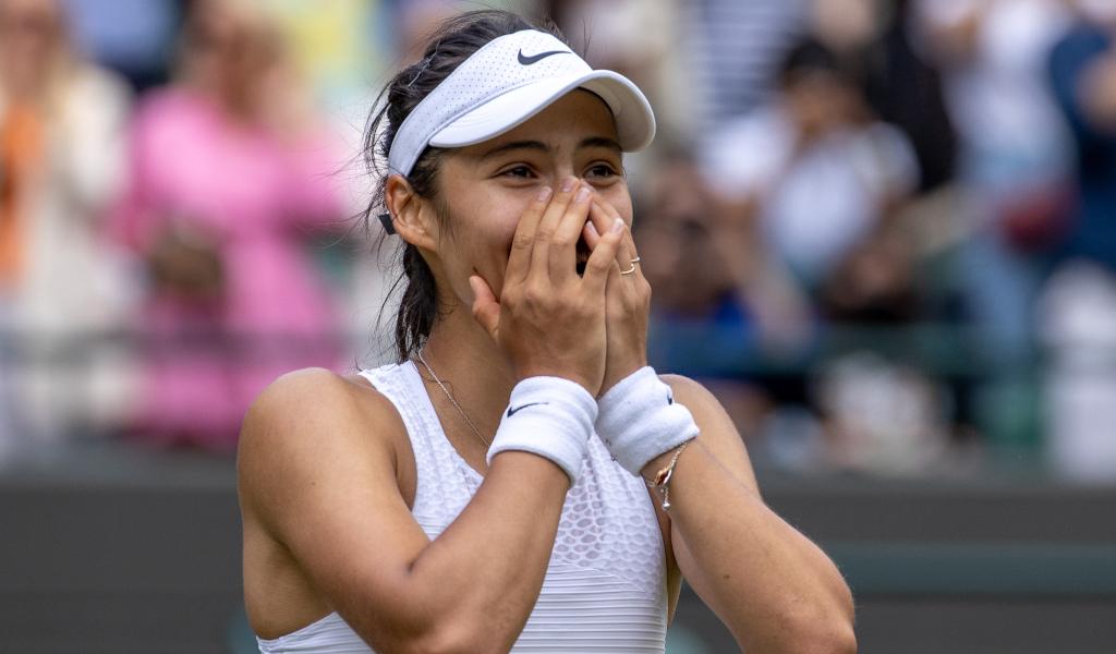 Emma Raducanu Wimbledon delight