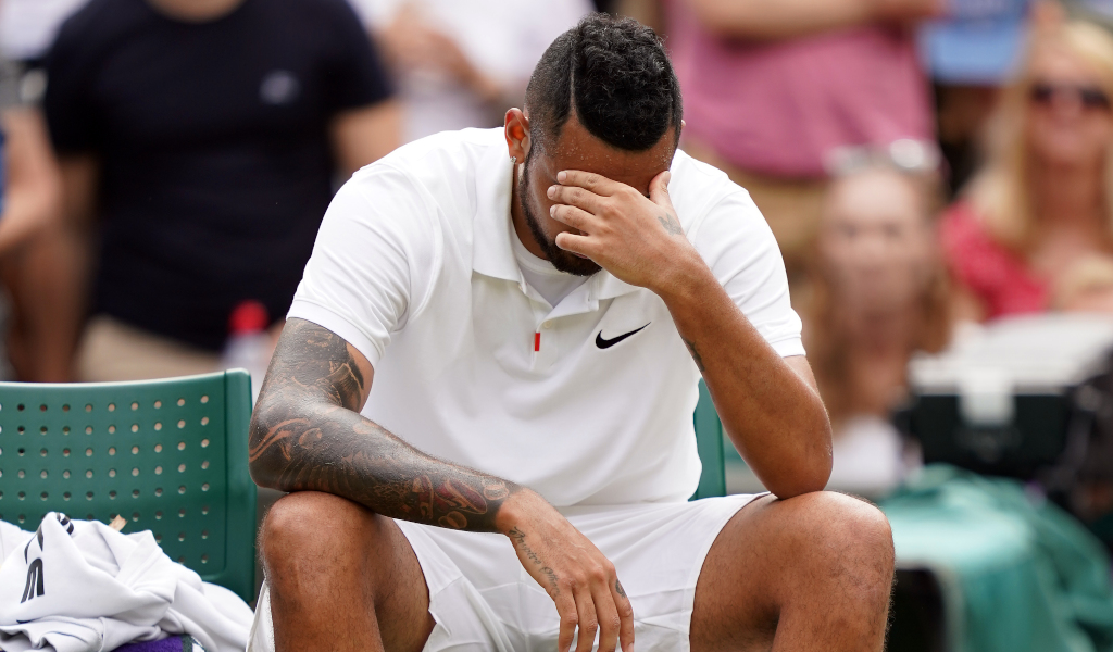 Nick Kyrgios disappointed