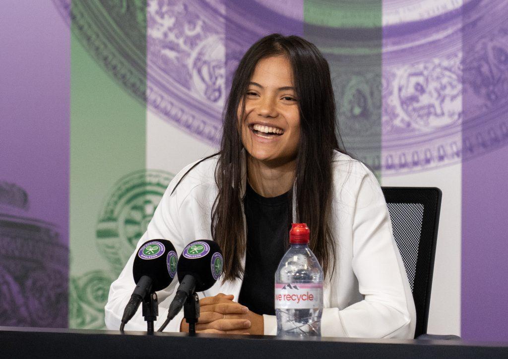 emma Raducanu press conference