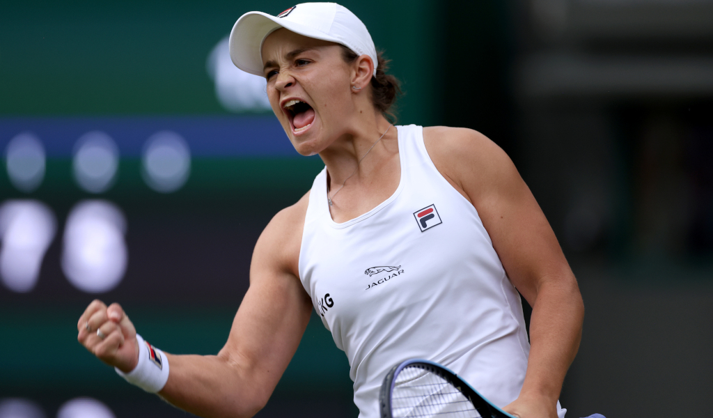 Ashleigh Barty delighted